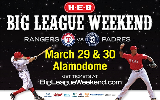 Big League Weekend -  Rangers vs. Padres