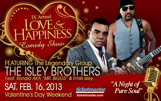 IX Love&amp;Happiness featuring the Isley Brothers