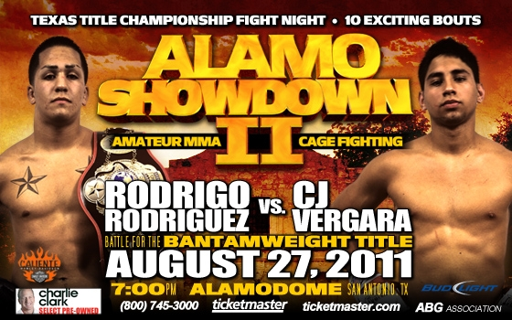 Alamo Showdown II - Live MMA Cage Fighting