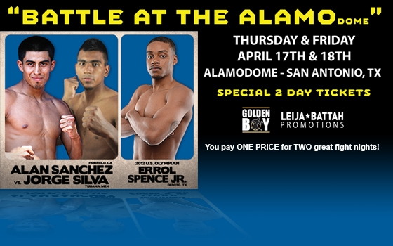 Battle at the ALAMOdome - Friday Night Boxing