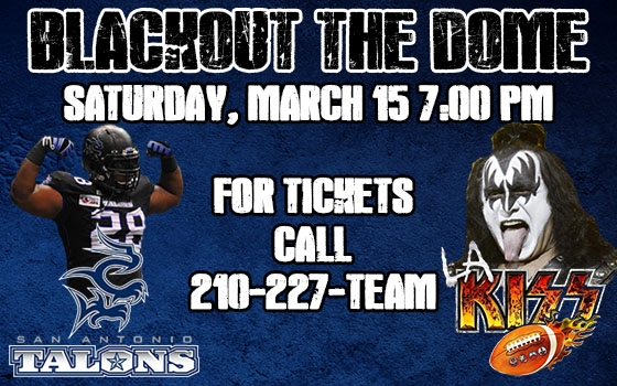 San Antonio Talons vs. Los Angeles KISS