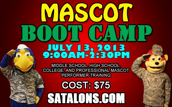 San Antonio Talons Mascot Boot Camp