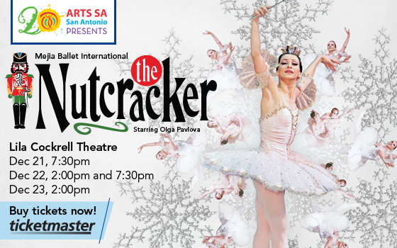 Arts SA Presents The Nutcracker featuring Meija Ballet International