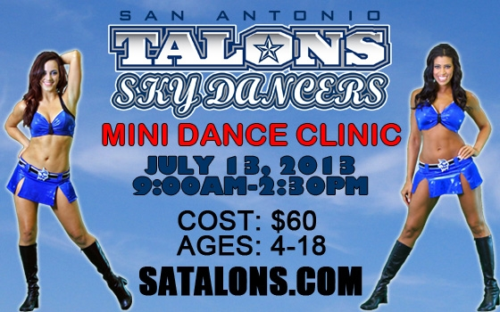 San Antonio Talons Sky Dancer Mini Clinic