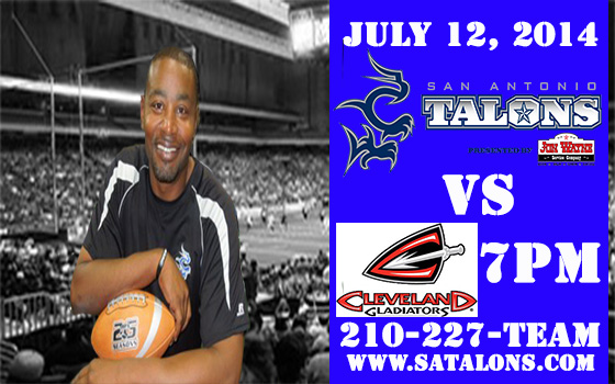 San Antonio Talons vs. Cleveland Gladiators