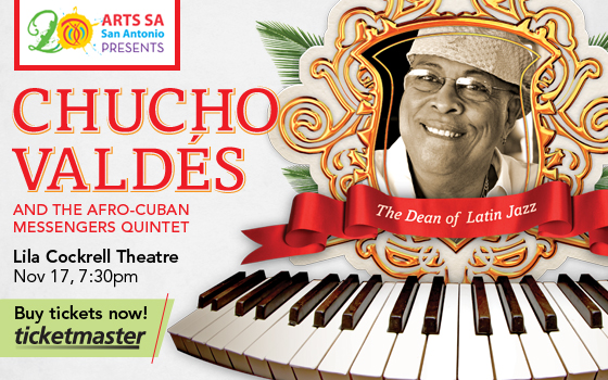 "Chucho Vald�s ""The Dean of Latin Jazz"""