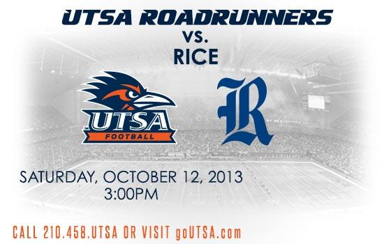UTSA vs. Rice University