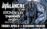 Avalanche Tour Will Rock the Illusions Theater at the Alamodome