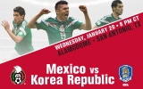 Mexico vs. Korea Republic